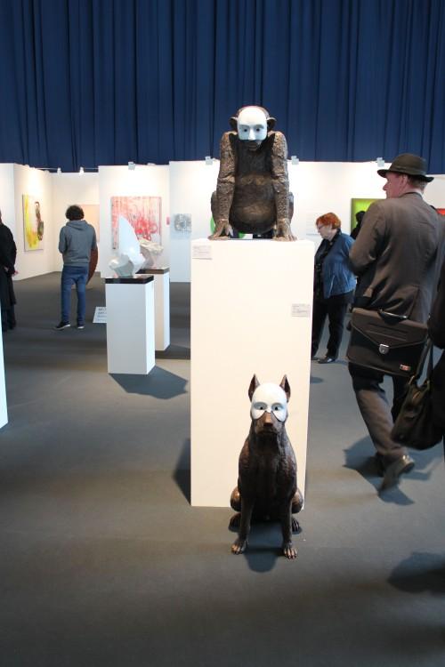 Impressionen ART Karlsruhe 2013. Foto v. HMKull (c)